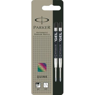 Parker inkt: GELPENVULLING MEDIUM 0,7 MM ZWART