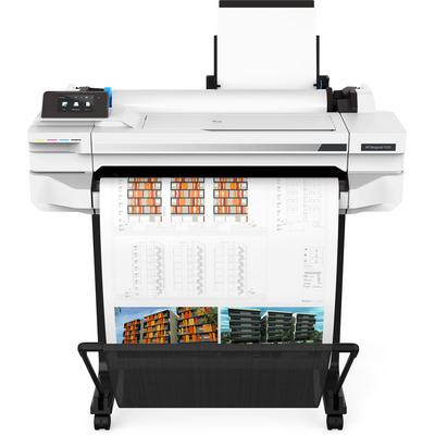 HP Designjet T525 Grootformaat printer - Zwart, Cyaan, Magenta, Geel