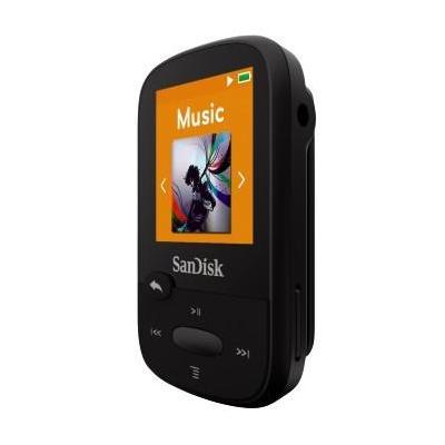 Sandisk MP3 speler: Sansa Clip Sport 4GB - Zwart