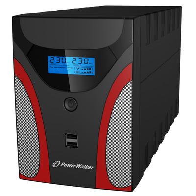 PowerWalker VI 2200 GX IEC UPS - Zwart