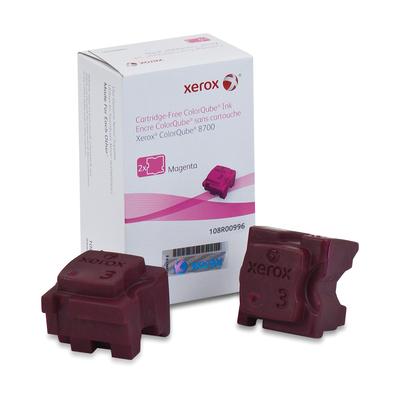 Xerox inkt stick: Originele ColorQube 8700/8900 Solid Ink magenta(2 sticks, voor 4.200 pagina's)