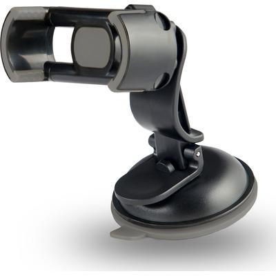 Azuri universal holder met suction & luchtventilatie Houder - Zwart
