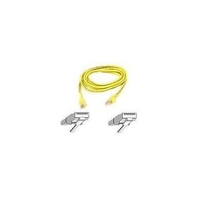 Belkin netwerkkabel: Patch cable - RJ-45(M) - RJ-45(M) - 5m ( CAT 5e ) - yellow