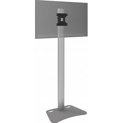 SmartMetals Statief (light) incl. bracket max. VESA 200 voor flatscreen TV standaard - Aluminium, Grijs