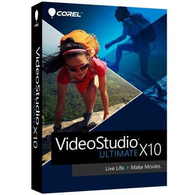 Corel grafische software: Corel, VideoStudio X10 Ultimate (Dutch / French)