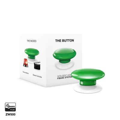 Fibaro : The Button - Groen, Wit