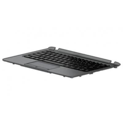 Hp Top Case, Black With Keyboard for ProBook 11 G1 notebook reserve-onderdeel - Zwart