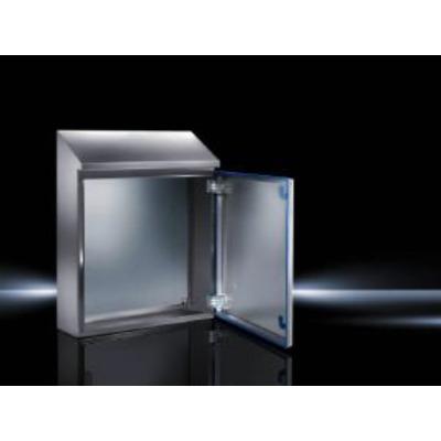 Rittal elektrische behuizing: Hygienic Design Wandkast HD, RAL 5010, IP 66/69K, NEMA 13/4X - Grijs
