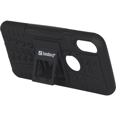 Sandberg ActionCase for iPhone X/XS Mobile phone case - Zwart