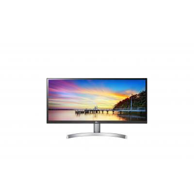 LG UltraWide 29WK600-W 29' FHD IPS Monitor - Zwart, Wit