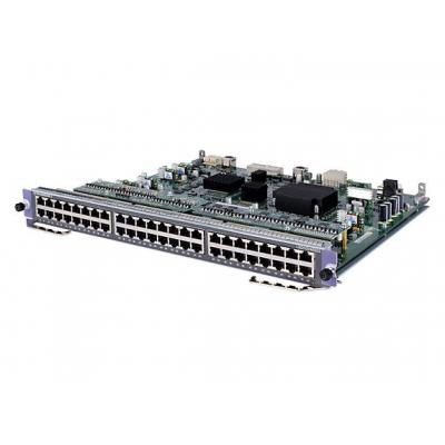 Hewlett packard enterprise netwerk switch module: 7500 48-port Gig-T Module