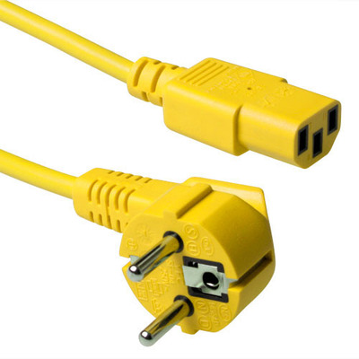 ACT Schuko - C13, 3.0m Electriciteitssnoer