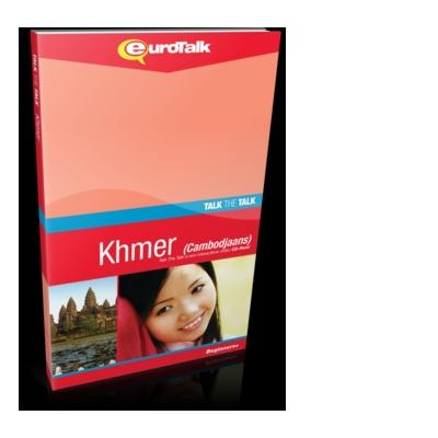 Eurotalk educatieve software: Talk The Talk, Leer Khmer (Cambodjaans) (Beginners)