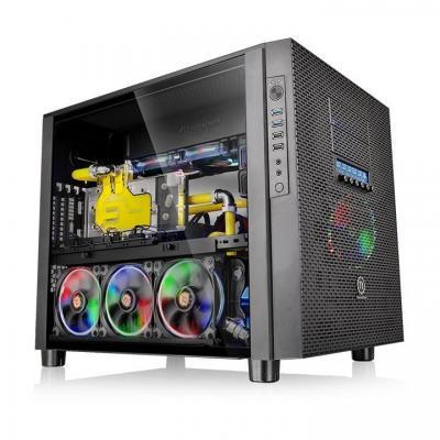 Thermaltake behuizing: Core X5 Tempered Glass Edition - Zwart