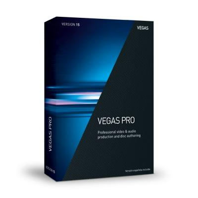 Magix grafische software: Sony VEGAS Pro 15.0  PC
