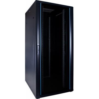DS-IT 37U serverkast met glazen deur 800x1000x1800mm (BxDxH) Rack