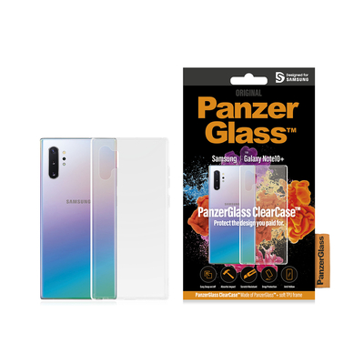 PanzerGlass Samsung Galaxy Note10+ Clear Frame Mobile phone case - Transparant