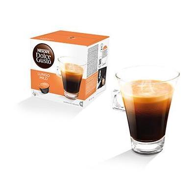 Nescafé koffie: Dolce Gusto Caffè Lungo Mild - Zwart