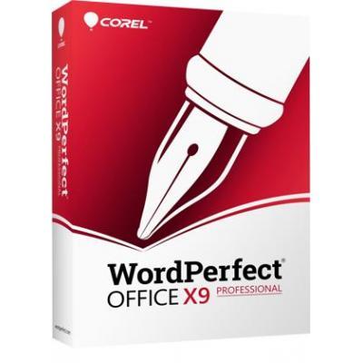 Corel WordPerfect Office X9 Professional Software suite