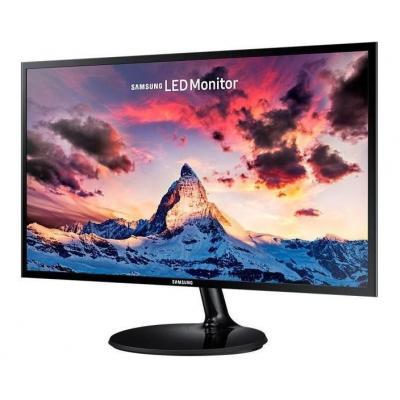 Samsung monitor: S24F350FHU LED - Zwart (Refurbished LG)