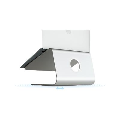 Rain Design mStand 360 Laptop Stand + Swivel Base Silver Notebooksteunen en -armen