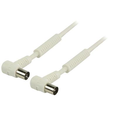 Valueline 1.5m Coax Coax kabel - Wit