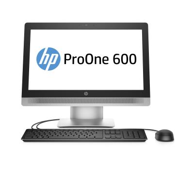 HP all-in-one pc: ProOne ProOne 600 G2 21.5-inch Touch All-in-One PC - Zwart, Zilver (Renew)
