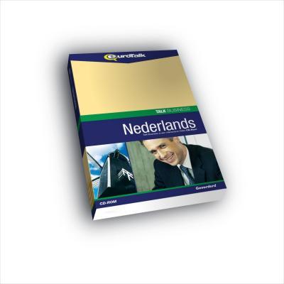 Eurotalk educatieve software: Talk Business, Leer Nederlands (Gemiddeld, Gevorderd)