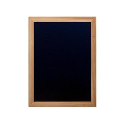 Securit bord: 300 x 400 mm, 501 g - Zwart, Hout