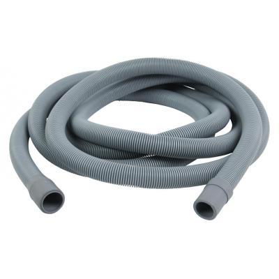 Hq keuken & huishoudelijke accessoire: Outlet hose 21 mm straight - 19 mm straight 2.50 m - Grijs