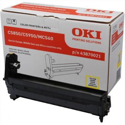 OKI drum: Yellow image drum for C5850/5950