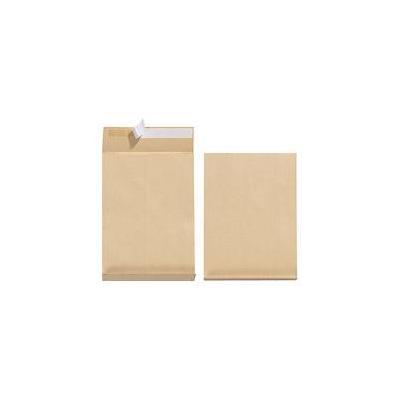 Herlitz envelop: Gusseted envelope, B4, 130g, p&s - Bruin