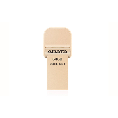 ADATA AI920, 64GB USB flash drive - Goud