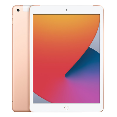 Apple iPad (2020) Wi-Fi + Cellular 32GB 10.2 inch Gold Tablet - Goud