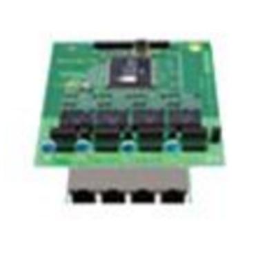 Tiptel 4S0/ 4Up0 Digitale & analoge i/o module - Groen