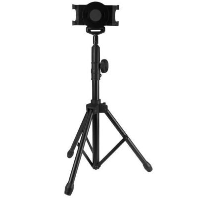 Startech.com multimedia kar & stand: Tablet houder met statief tripod tablet vloerstandaard - Zwart