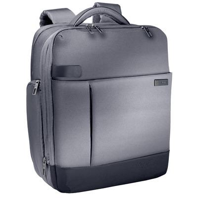 """Leitz Complete 15,6"""" Smart Rugzak voor Laptop, 1.2 kg, Zilver Laptoptas - Zwart, Zilver"""
