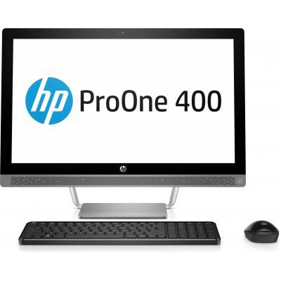 Hp all-in-one pc: ProOne 440 G3 - Zwart, Zilver (Renew)