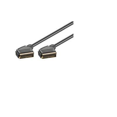 Microconnect : Scart - Scart, 3m - Zwart