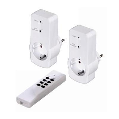 Hama : Radio-Controlled Power Outlet Set with Remote Control