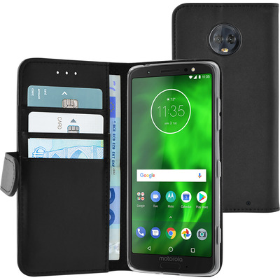 Azuri AZ-WALCLRMOG6PL-BLK mobiele telefoon behuizingen