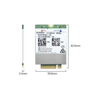 Lenovo notebook reserve-onderdeel: ThinkPad Huawei ME906S 4G LTE Mobile Broadband - Groen, Zilver, Wit