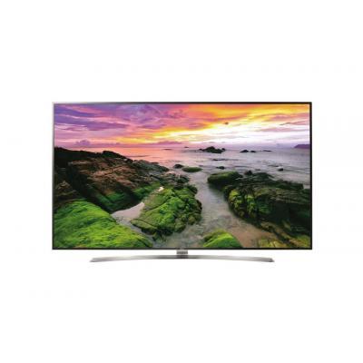 """Lg led-tv: 190.5 cm (75 """") LED Monitor, 4K 3840 x 2160, 430cd/m2, 178° / 178°, PAL/SECAM, DVB-T2/C/S2 - Zwart, Zilver"""