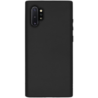 SolidSuit Backcover Galaxy Note 10 Plus - Classic Black - Zwart / Black Mobile phone case