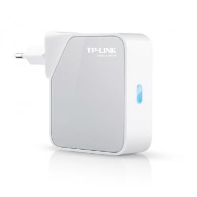 TP-LINK wireless router: 2x 10/100Mbps RJ45, 2.4-2.4835GHz, 802.11b/g/n, 1x USB, Weiß - Wit