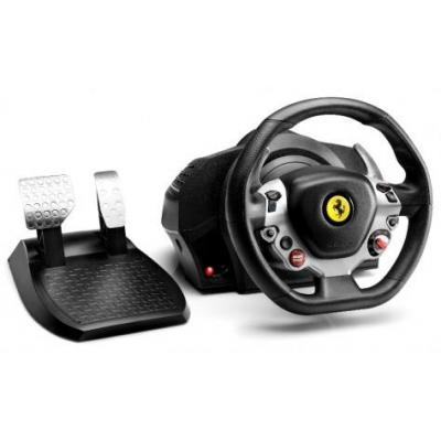 Thrustmaster game controller: TX Racing Wheel Ferrari 458 Italia Edition - Zwart, Zilver