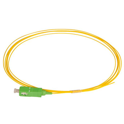 Lanview SC/APC, OS2, 9 / 125 µm, PVC, Yellow, 2 m Fiber optic kabel - Geel