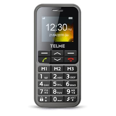 TELME C151 Mobiele telefoon - Grijs