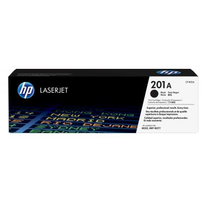 Hp toner: 201A originele zwarte Color LaserJet Pro tonercartridge