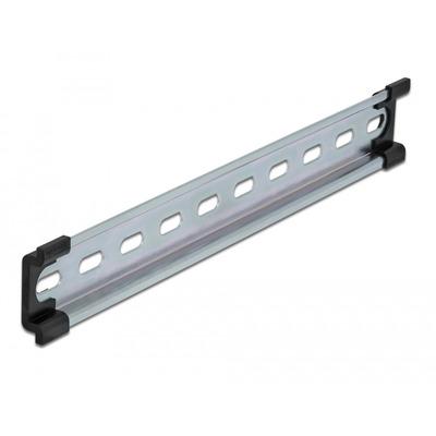 DeLOCK DIN Rail, 35x7.5x250 mm, Steel Montagekit - Roestvrijstaal